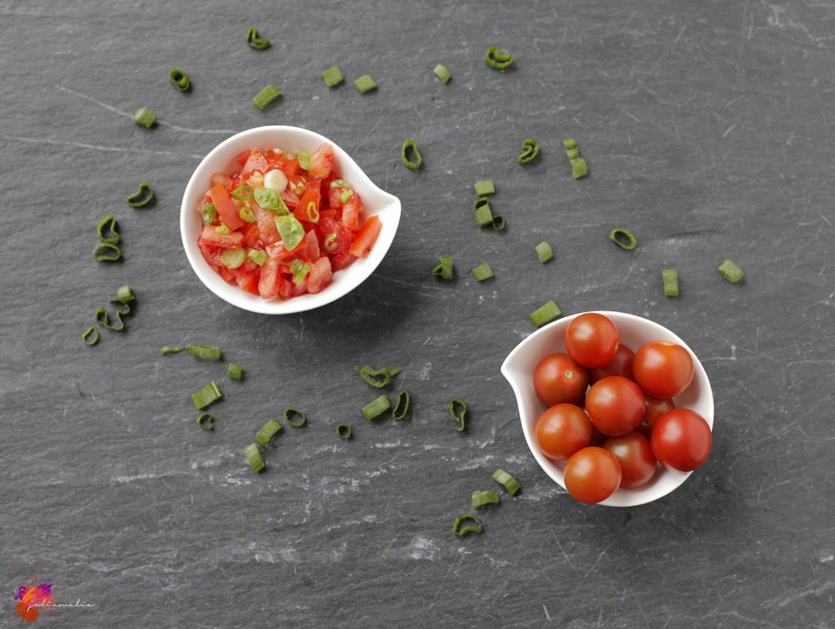 schnelle Tomaten Salsa