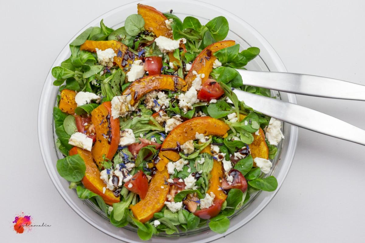 Rezept Kürbis Salat