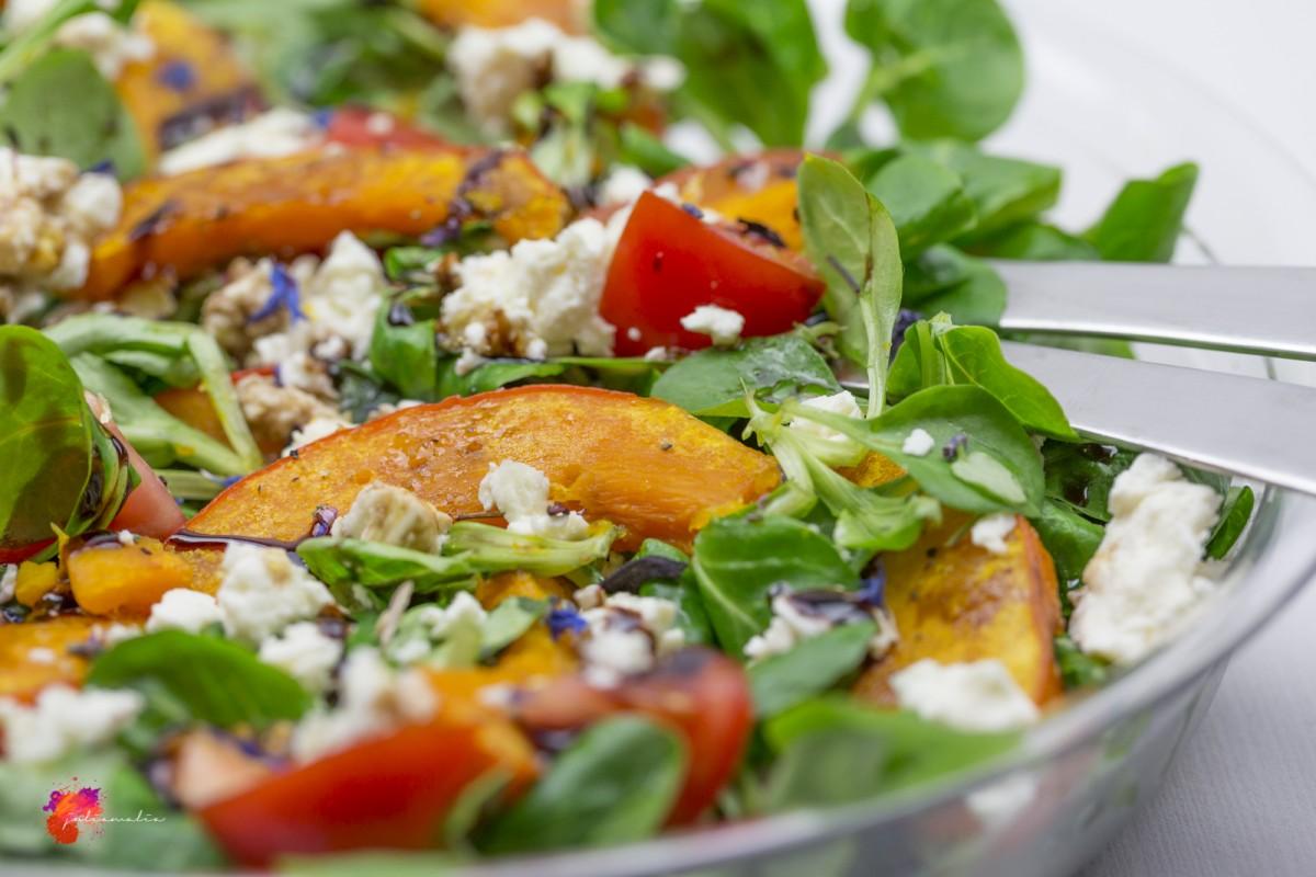 einfacher Kürbis Salat