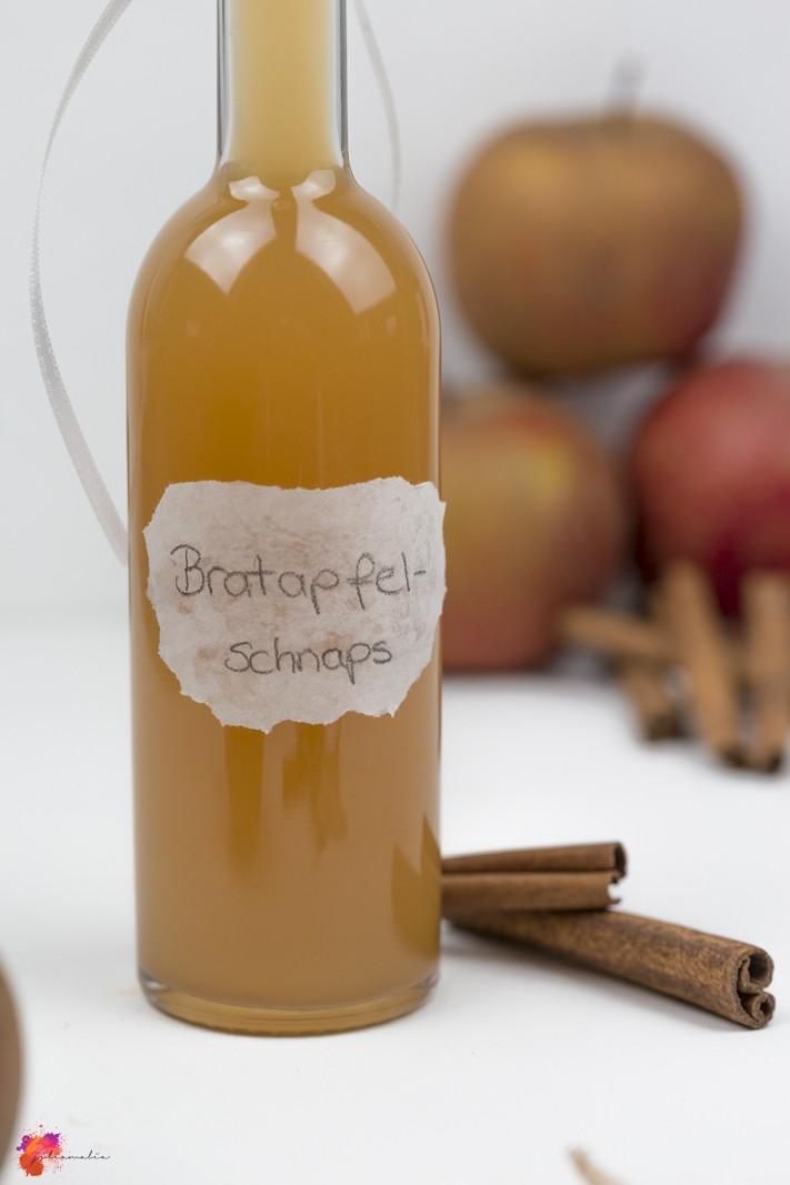 Blitzrezept Bratapfelschnaps