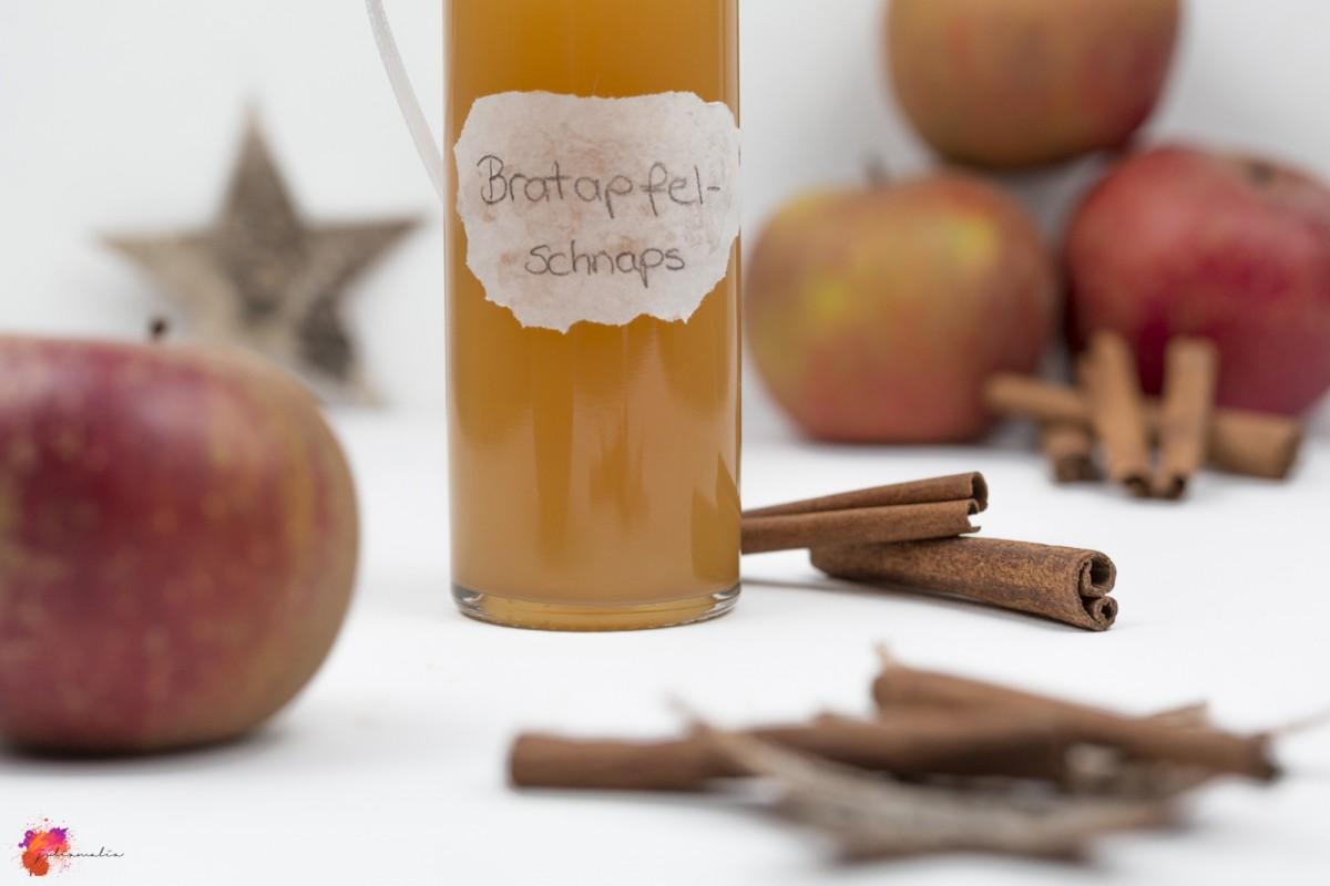 Rezept Bratapfelschnaps