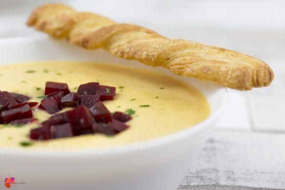 Kartoffel Creme Suppe einfach Rezept