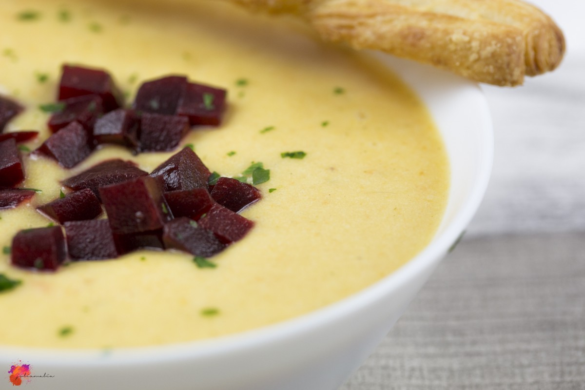 Suppe mit Kartoffel