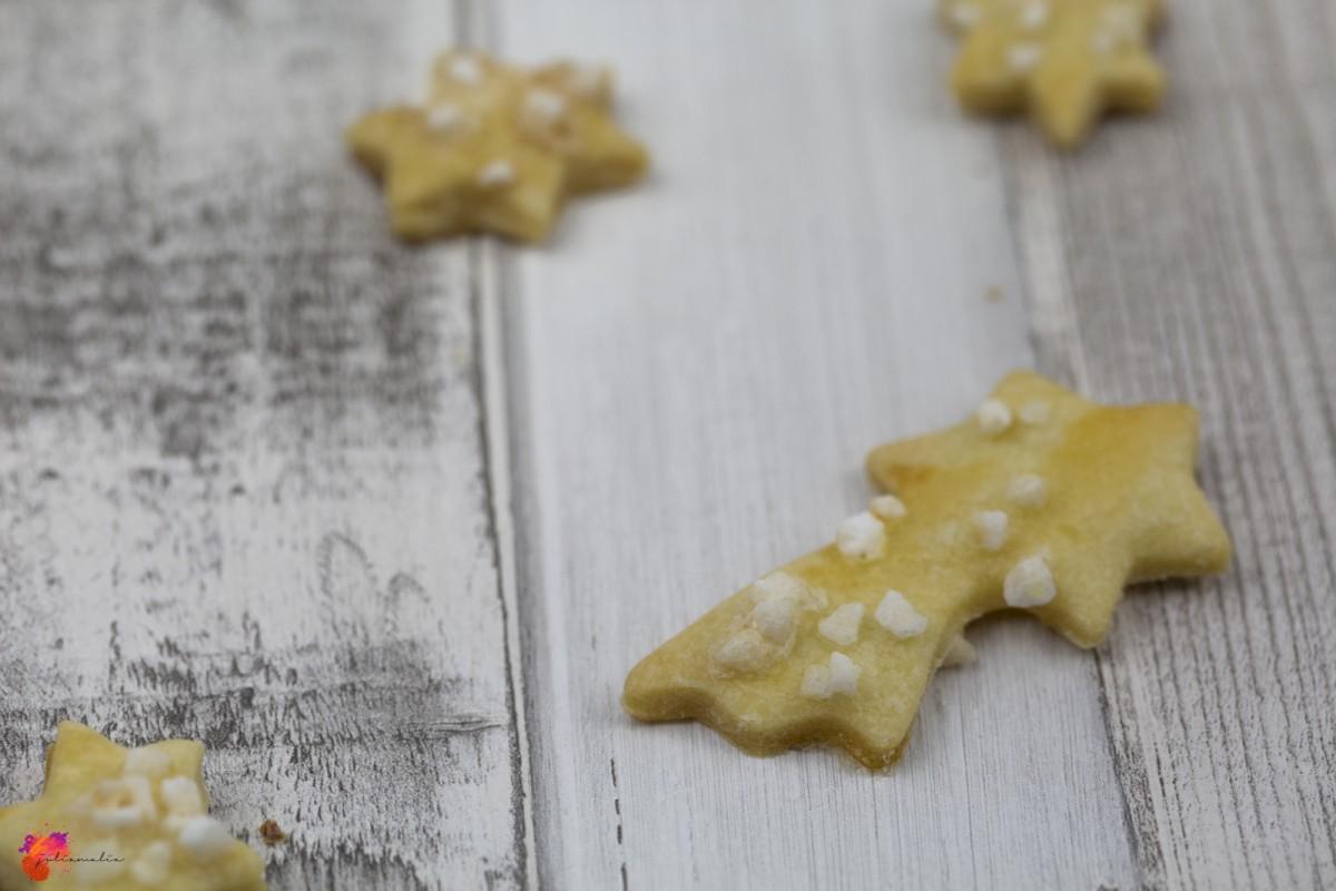 Weihnachten Plätzchen mit Buttermilch