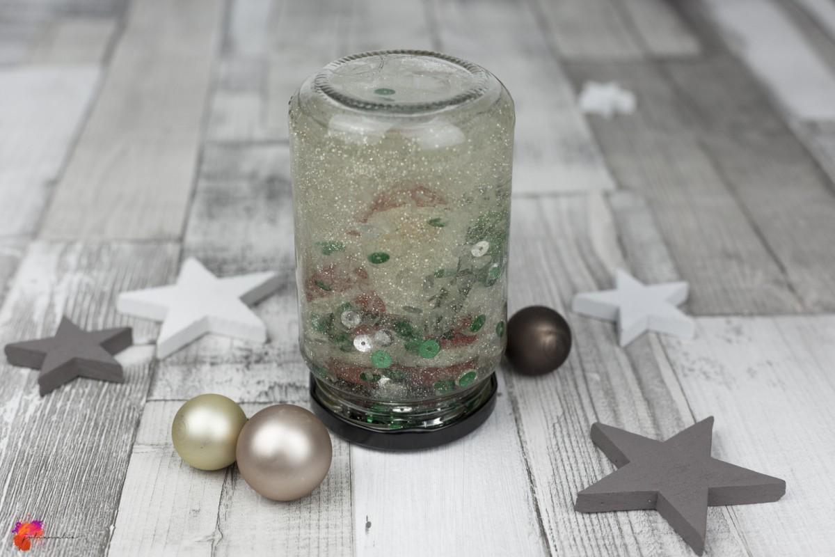 Geschenkidee Weihnachten Schneekugel