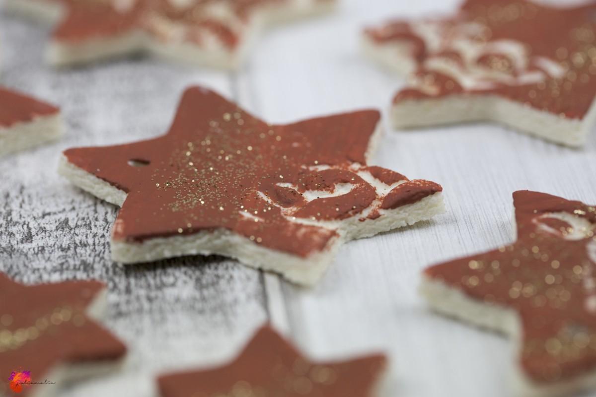 DIY Salzteig Anhänger Weihnachten