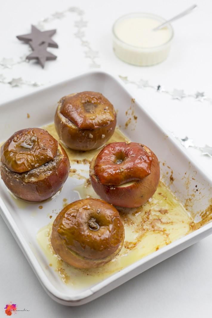 Weihnachten Bratapfel lecker unglaublich