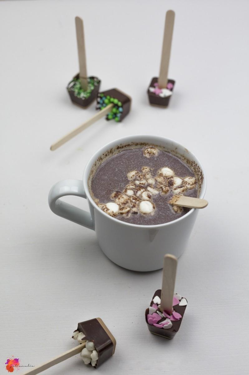 Rezept Schokolade Geschenk Idee