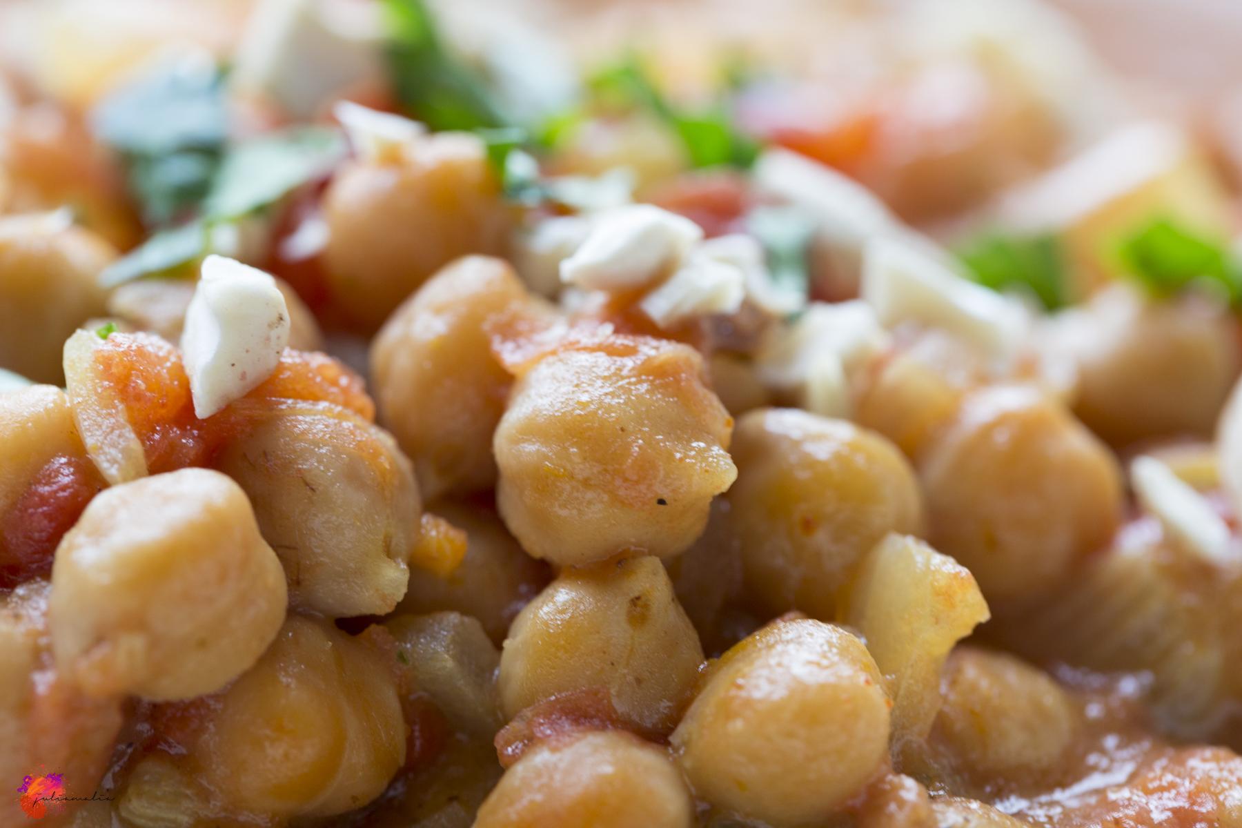Kichererbsen Rezept Gericht kochen