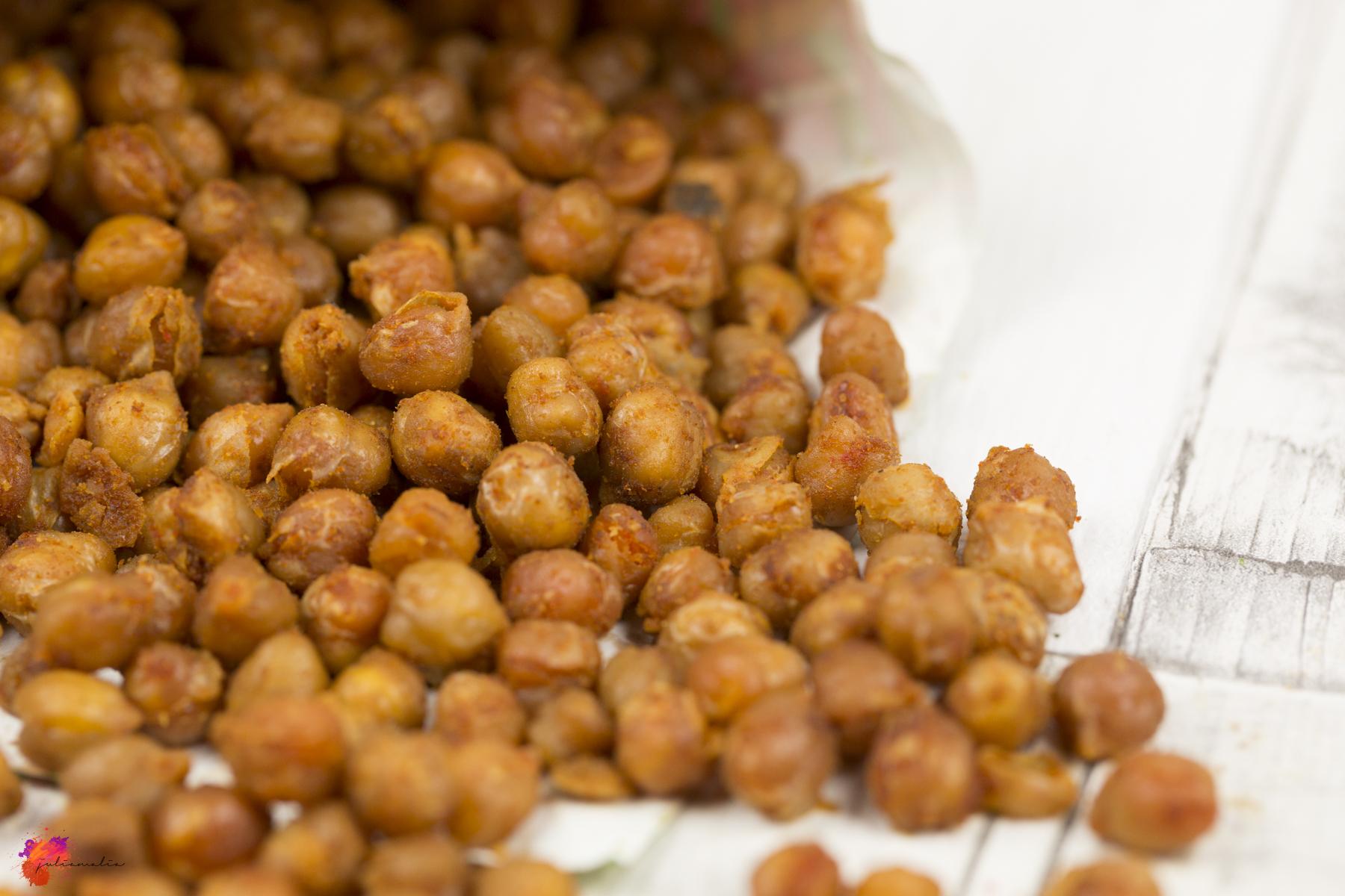 Sehr gebackene Kichererbsen - Der gesunde Snack für Zwischendurch FB56