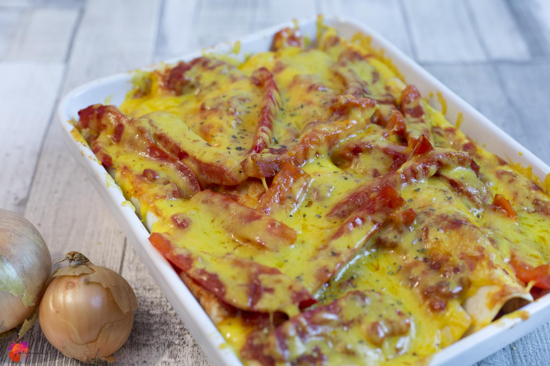 Hähnchen Tortilla Ofen
