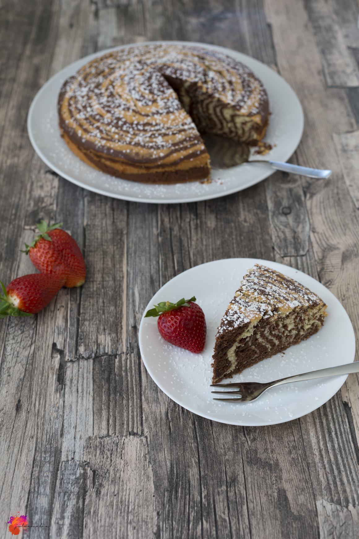 Zebrakuchen Zebra Kuchen