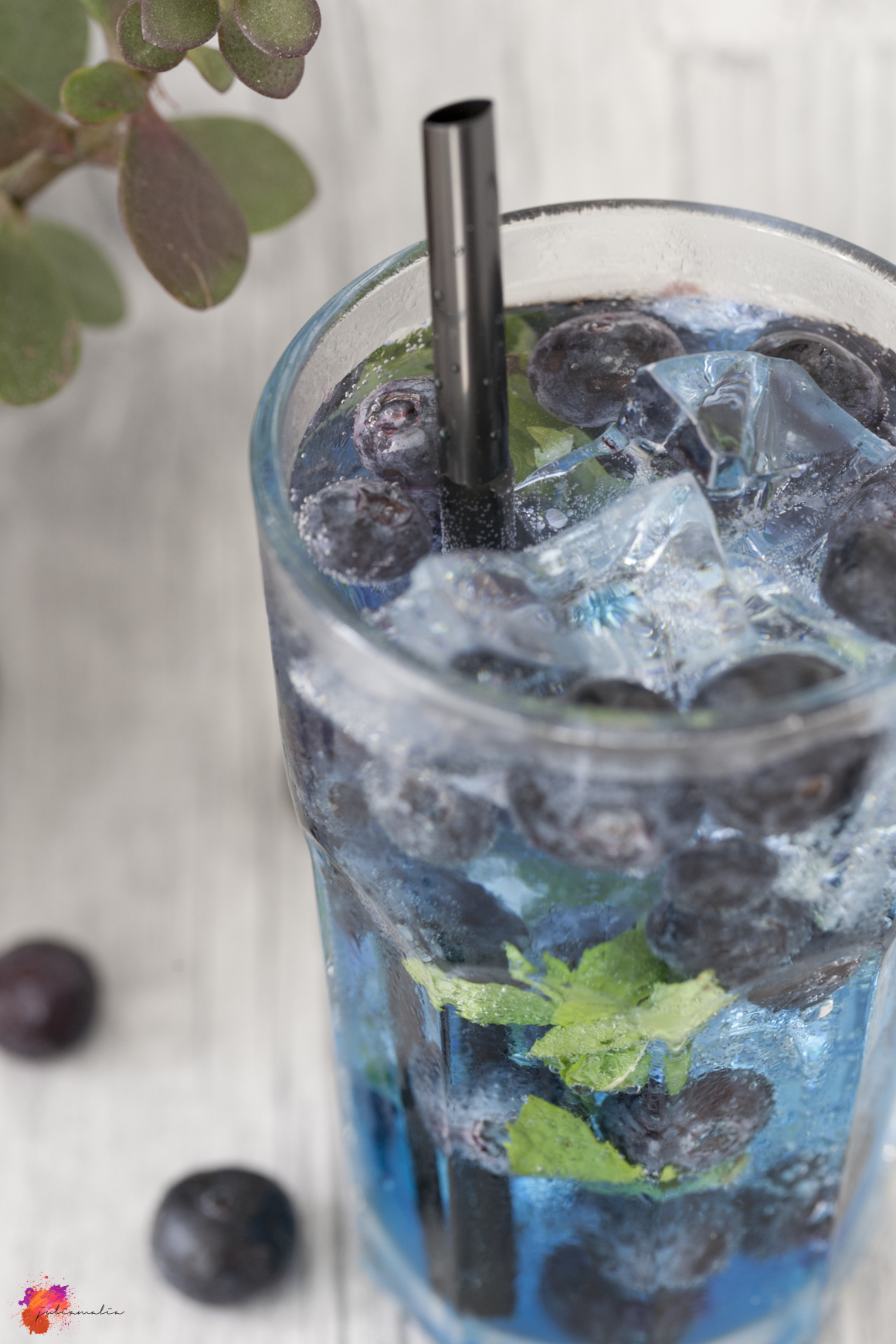 Mojito Rezept Heidelbeeren Sommer erfrischend