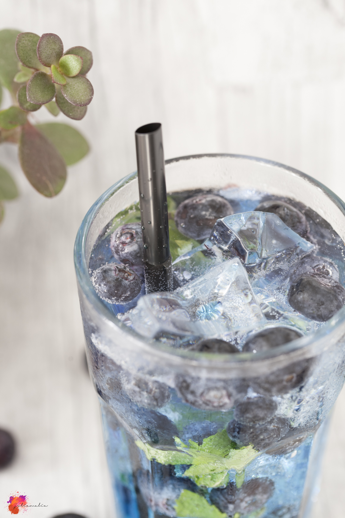 Blaubeere Cocktail
