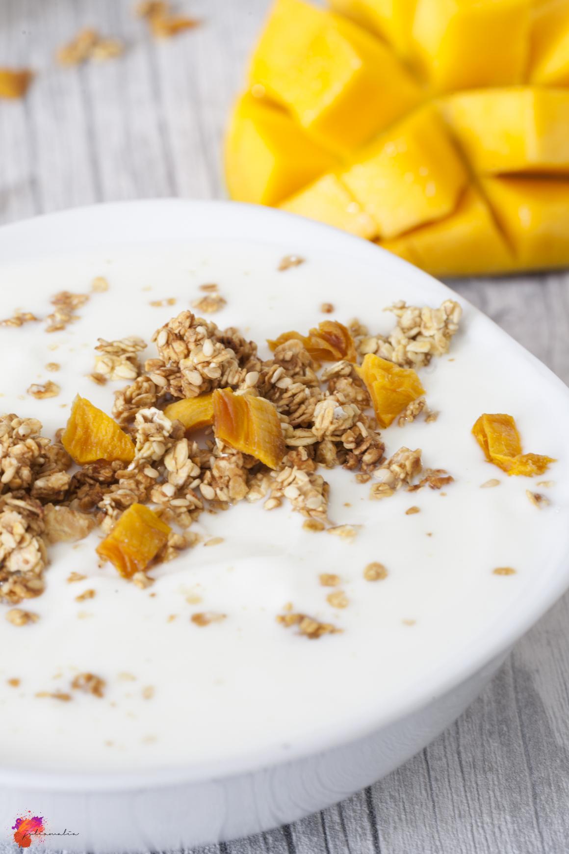 Mango Granola lecker einfach schnell