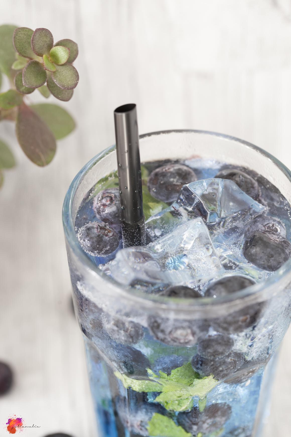 Blaubeere Cocktail