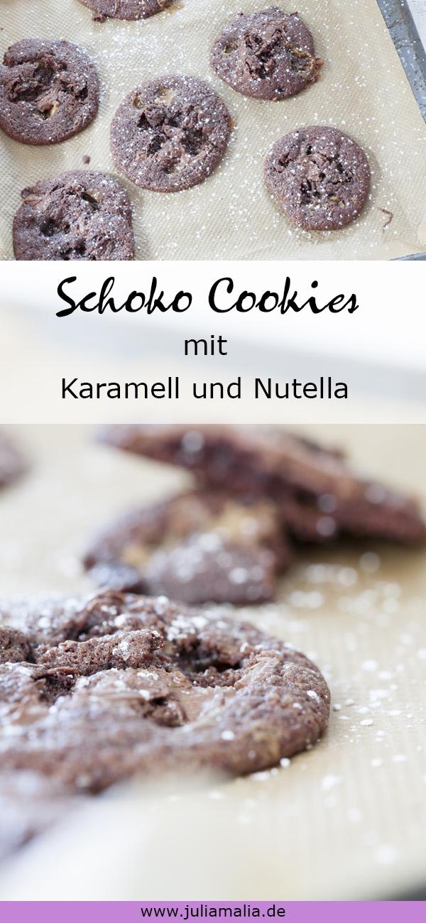 Schoko Cookies Pinterest