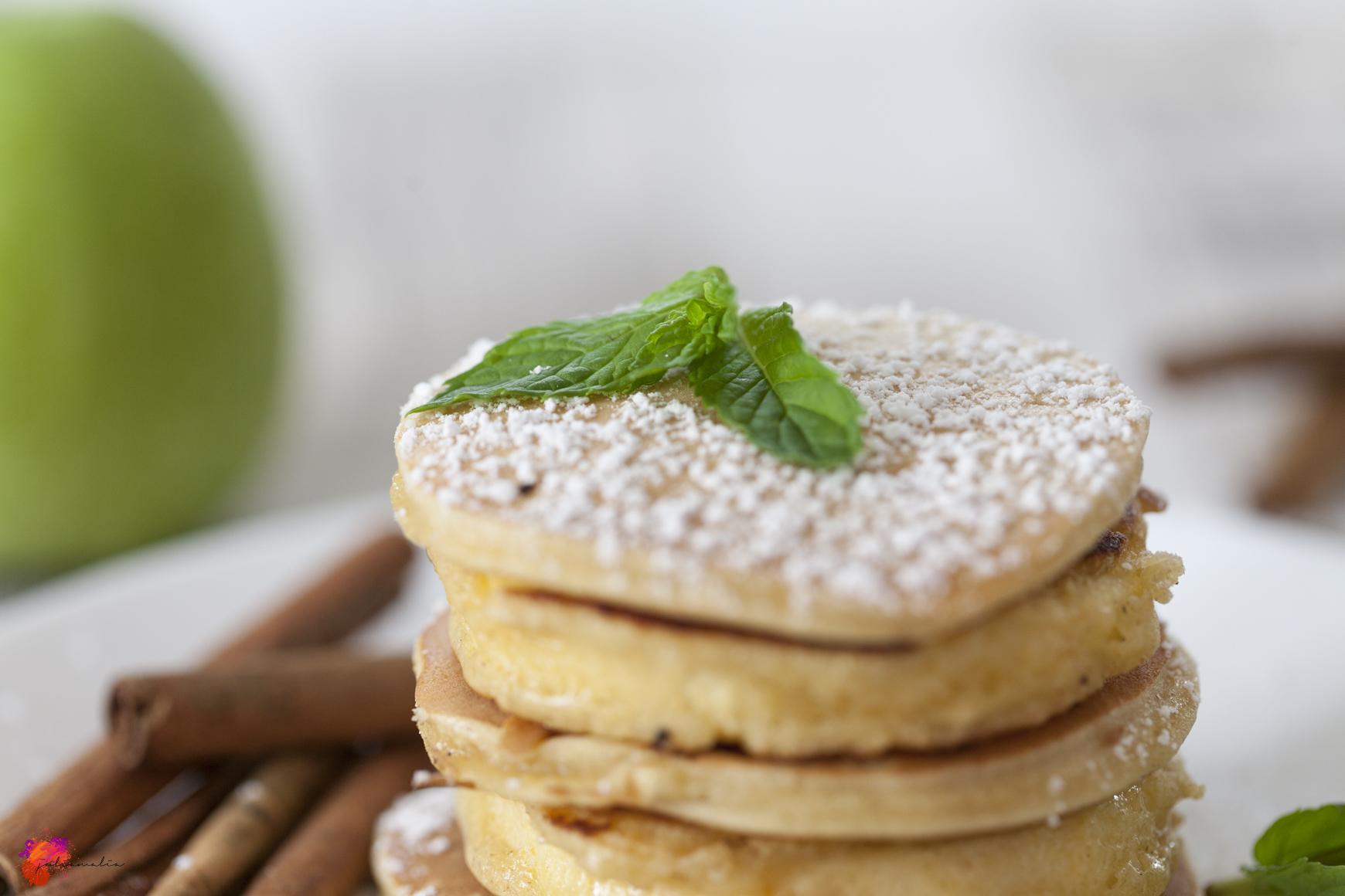 gebackene Apfelringe
