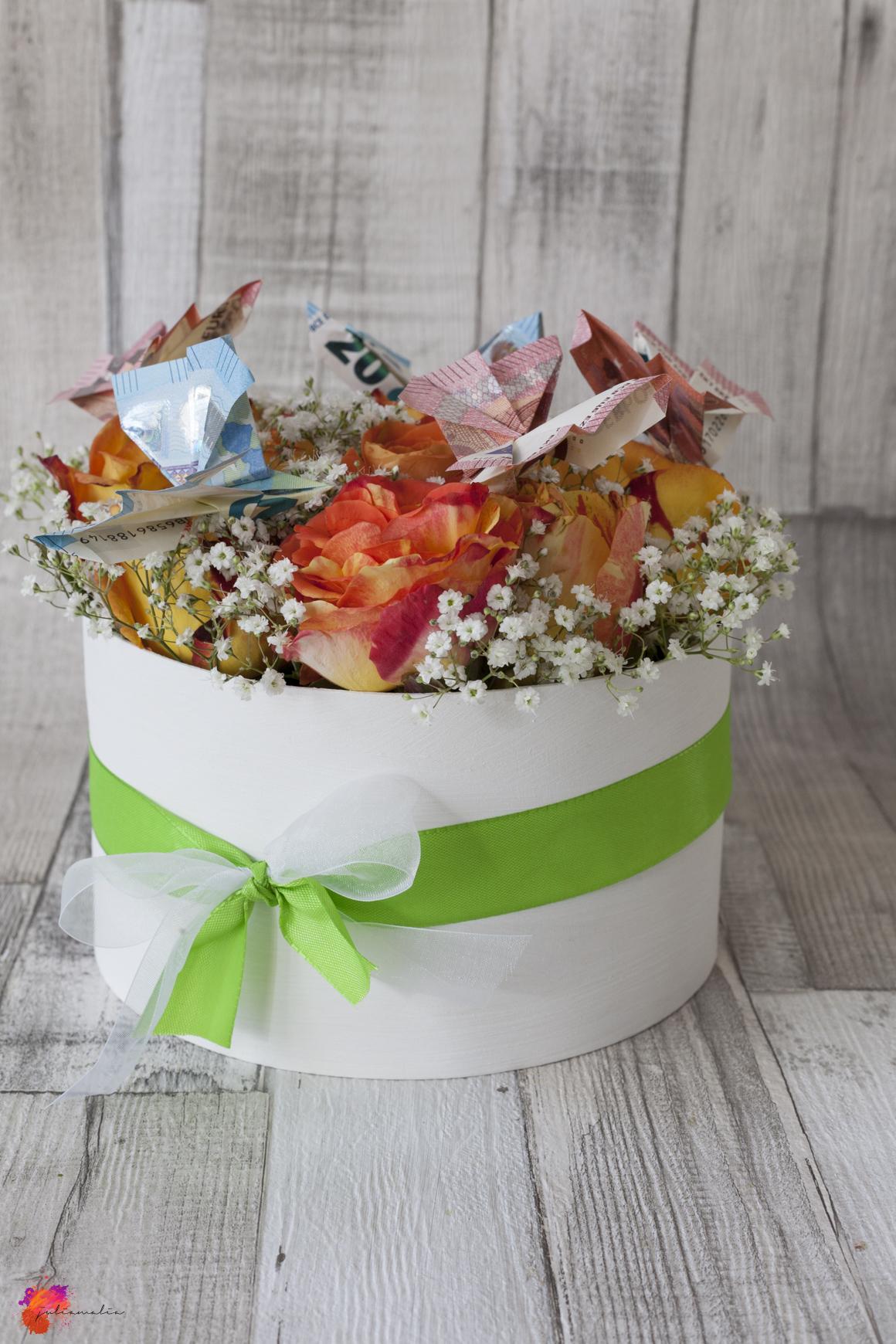 Flowerbox Bastelanaleitung