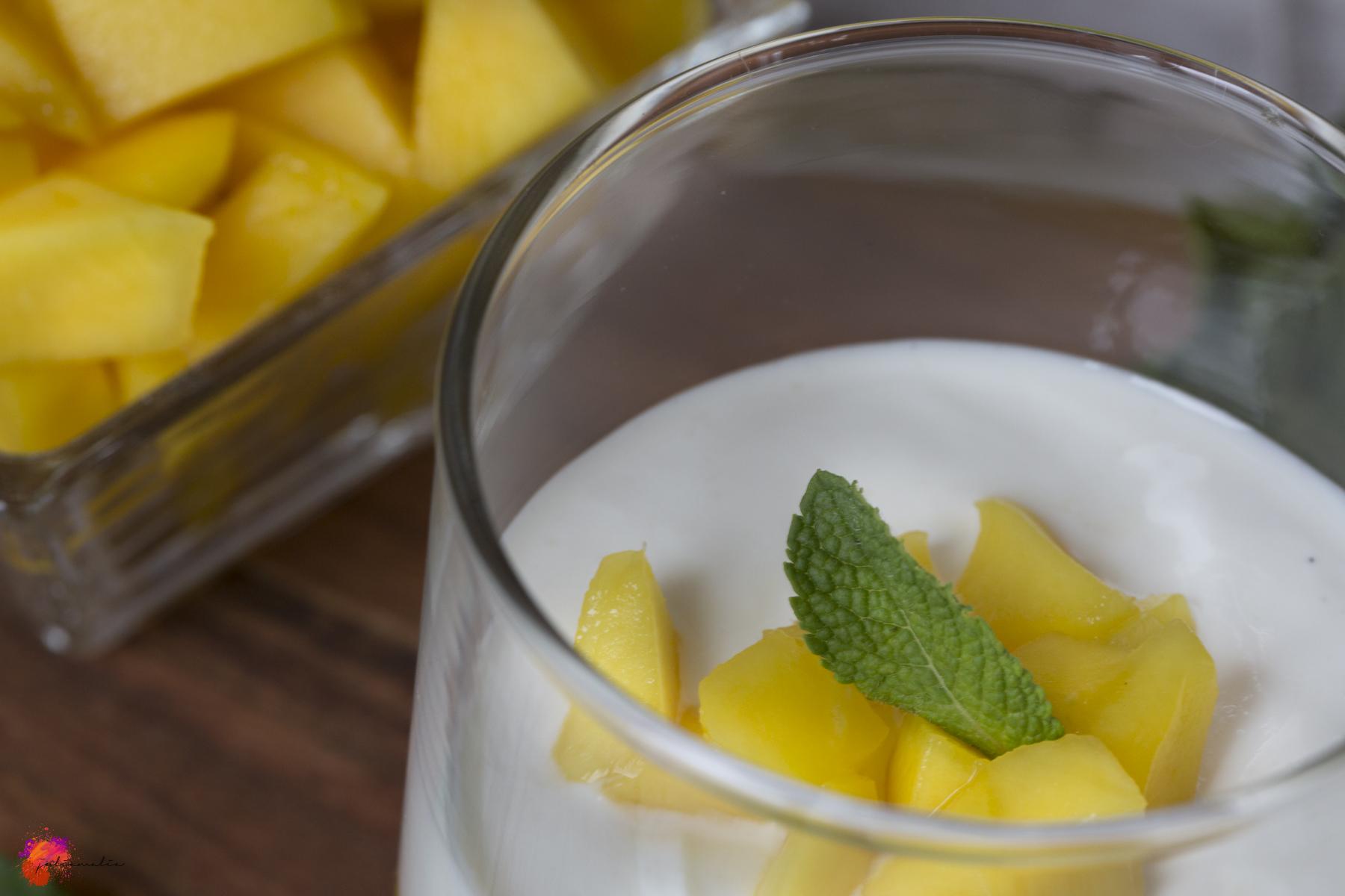 Mangoquark Rezept