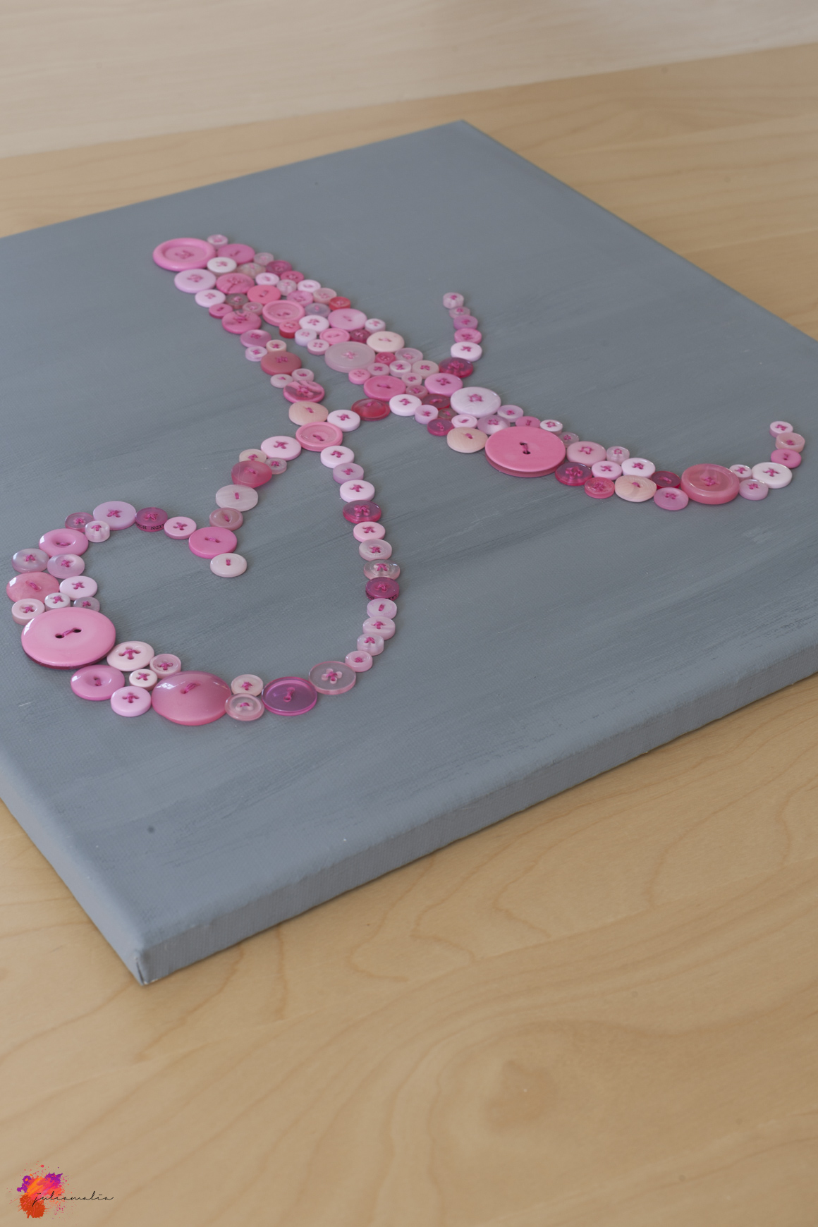 Knopf Bild Pink