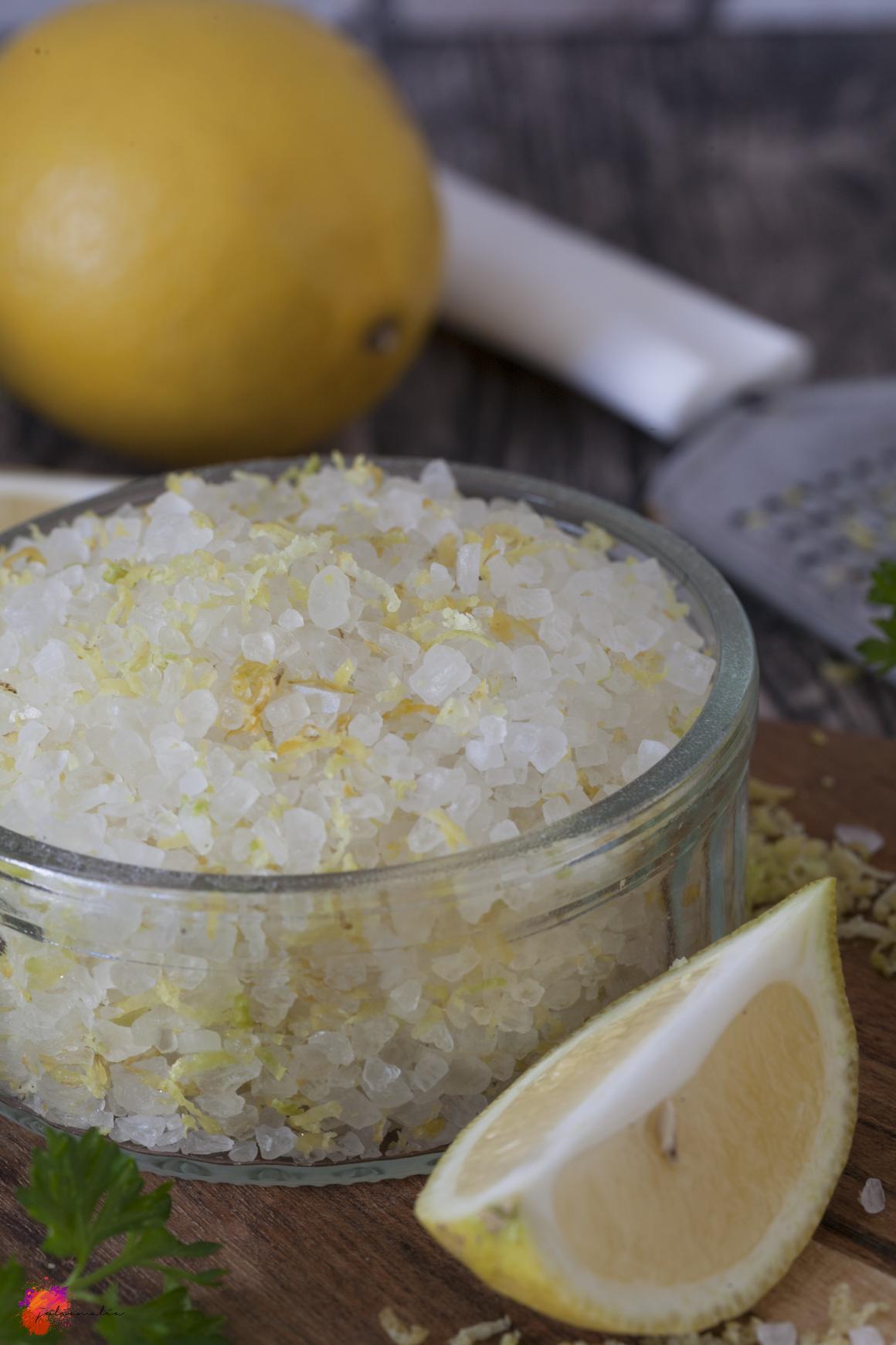 Zitronen Salz aus der Küche
