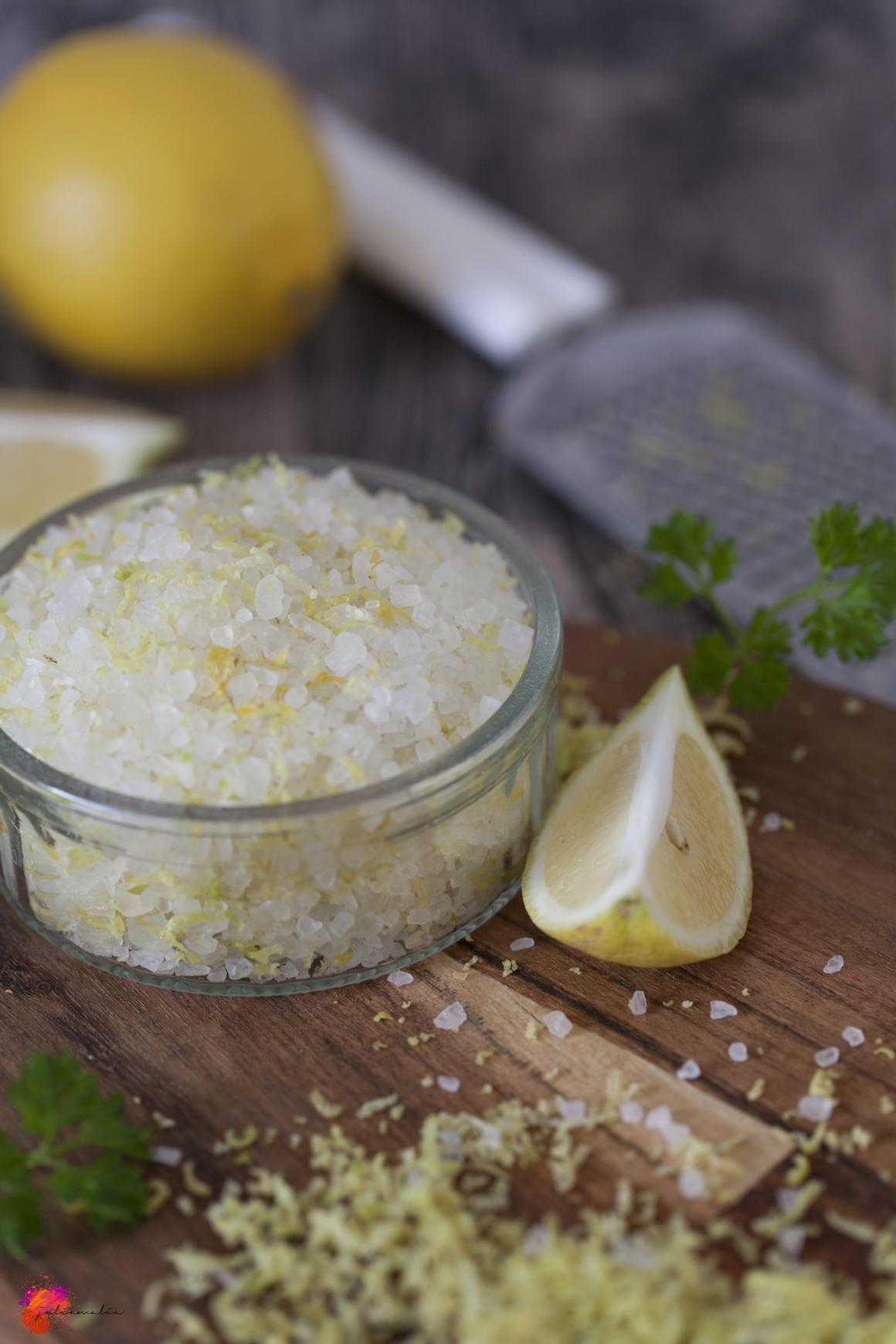 Salz Zitronen Meersalz