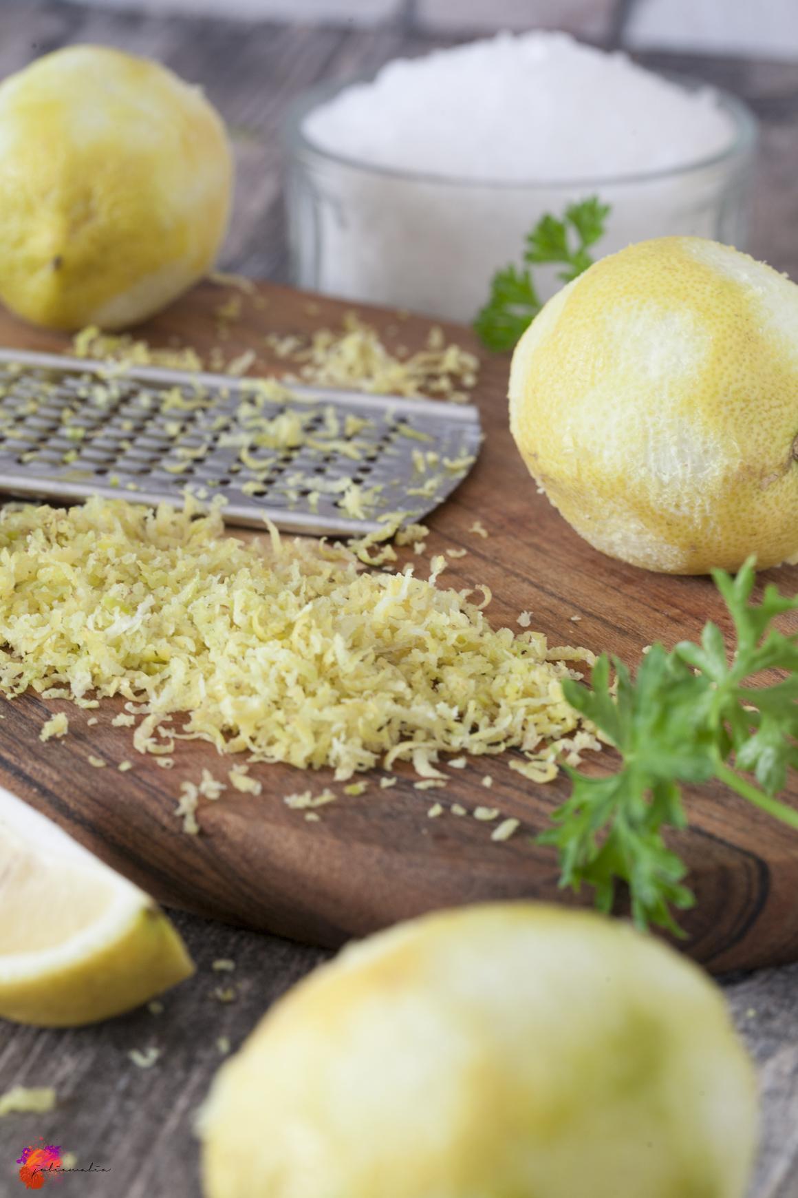 Salz aus Zitronen