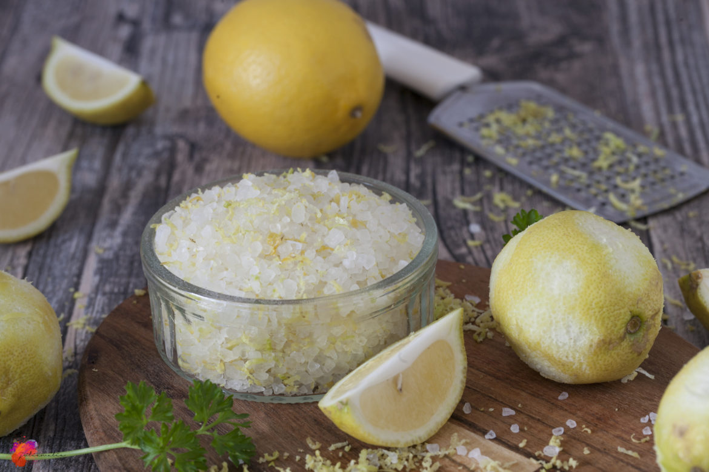 Zitronen Salz