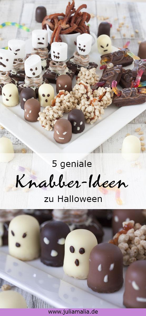 Halloween Knabber Ideen Pinterest