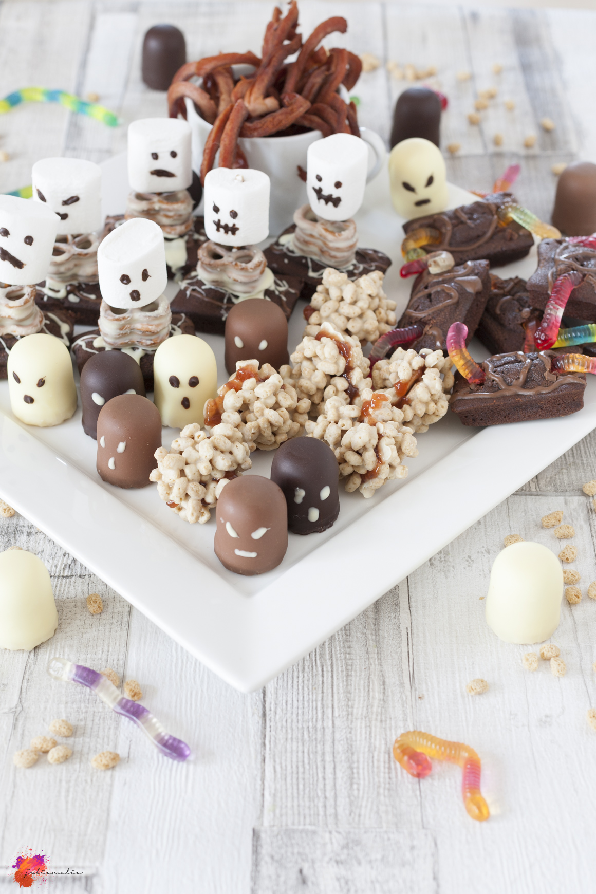 Knabber Ideen Halloween