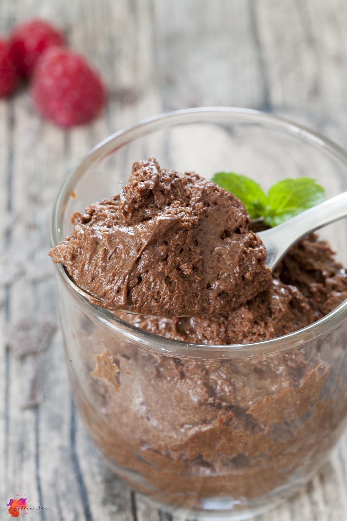 Mousse au chocolat Schokolade