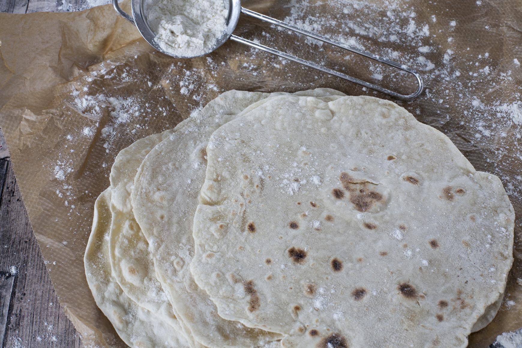 Tortilla Grundrezept Wraps