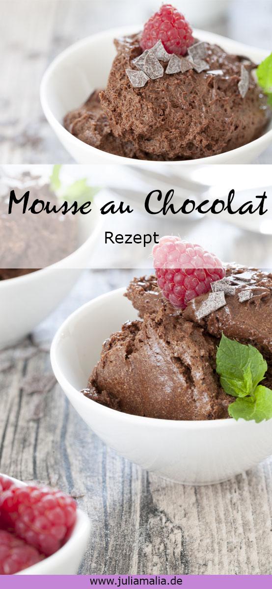 Mousse au Chocolat Pinterest