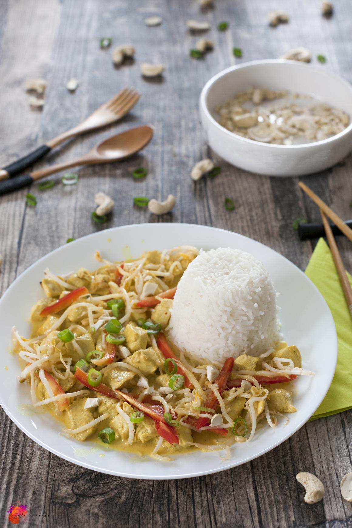 Thai Curry einfach schnell