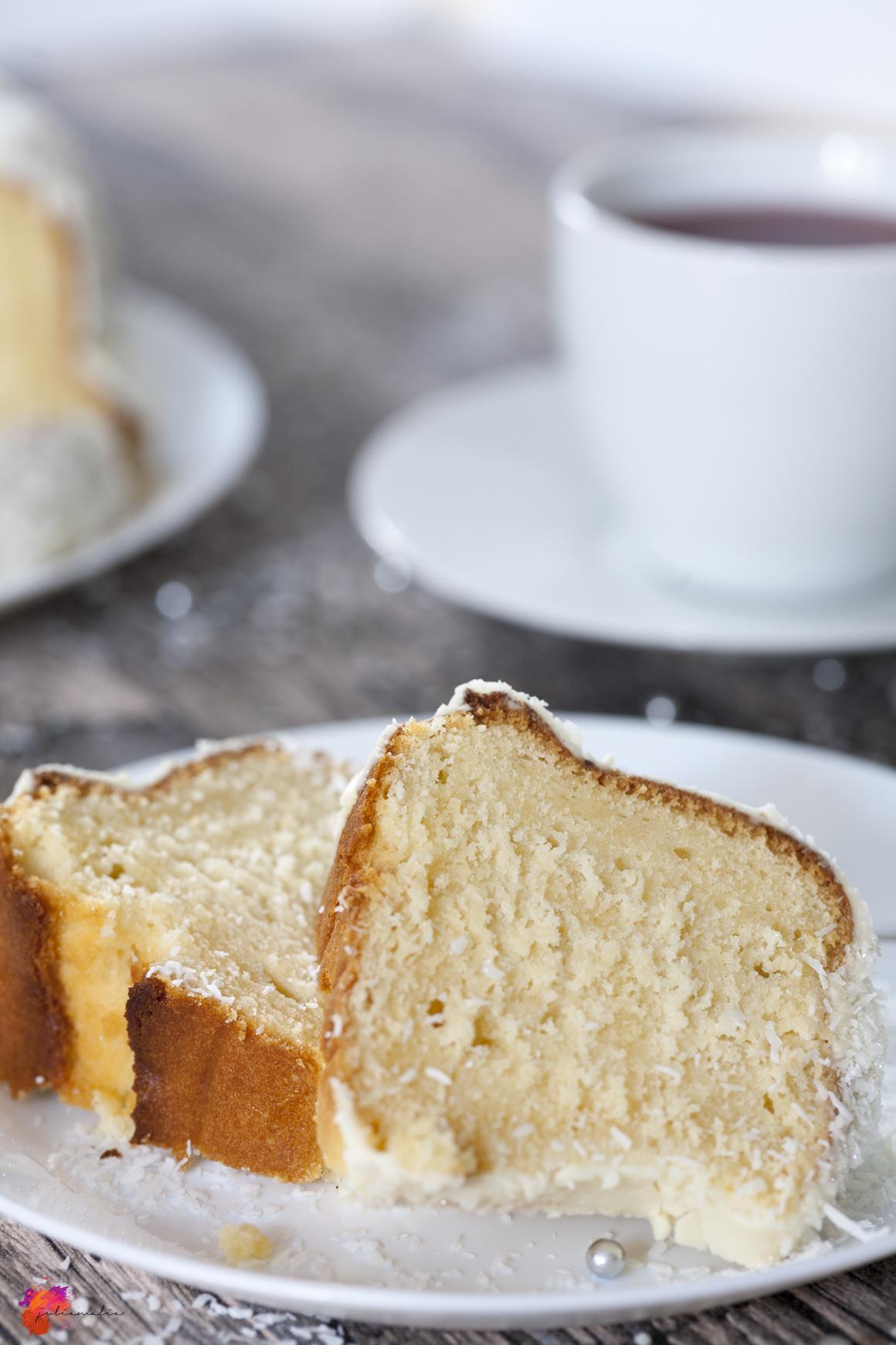 Schneeflocken Kuchen Rezept