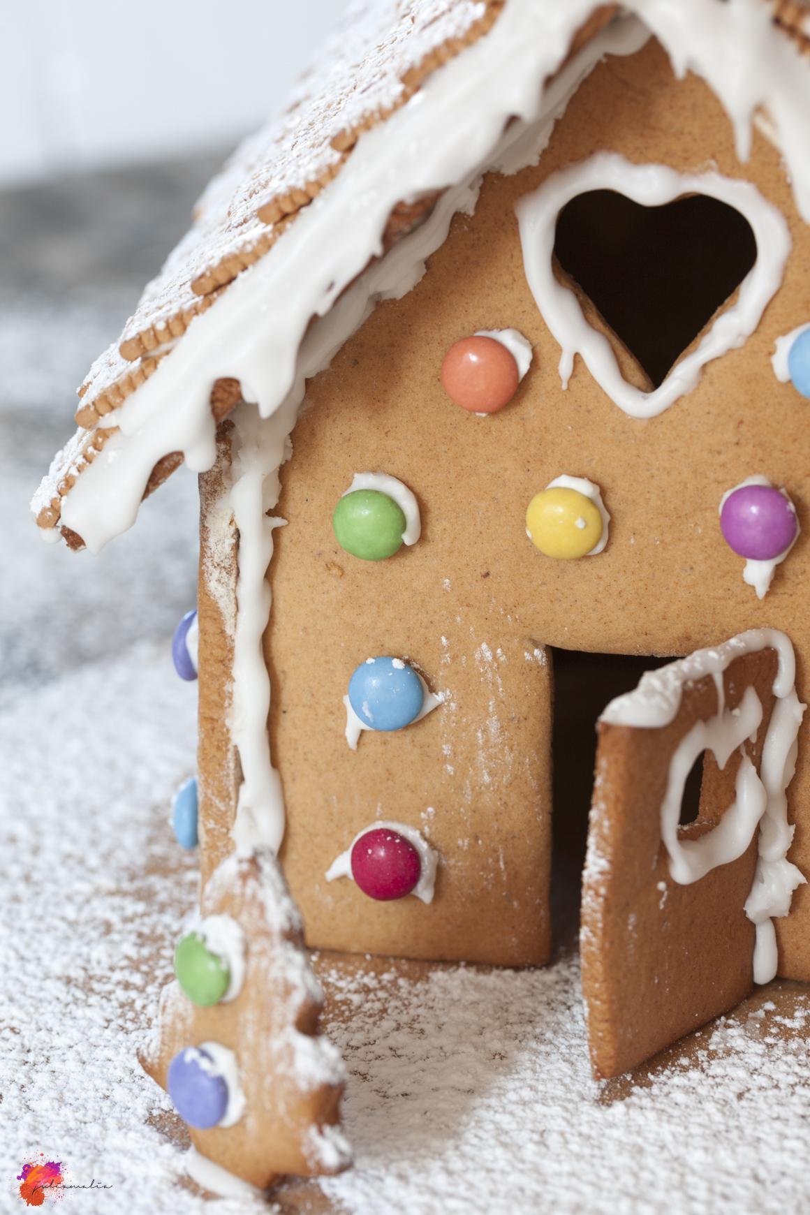 einfache Anleitung Lebkuchenhaus